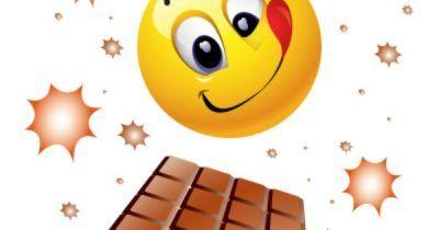 caritas de felicidad animadas comiendo