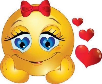 caritas enamoradas animadas con corazones