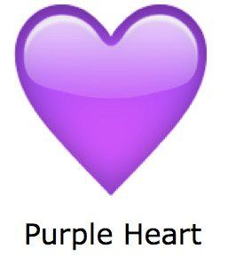 corazon grande whatsapp corazon morado