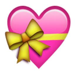 corazones emoticono color rosado