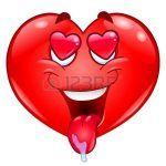Abre tu corazón con el emoticón de enamorado