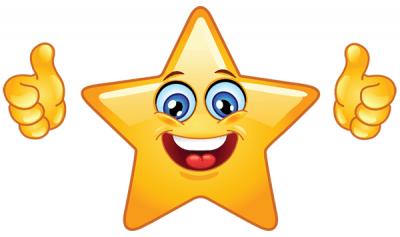 imagenes de caritas bravas estrella feliz
