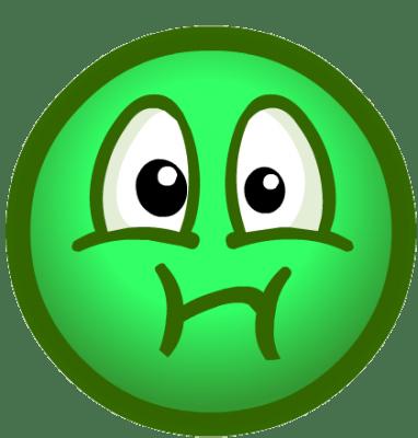 imagenes de emoticones enfermos green