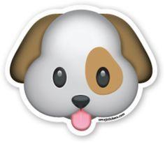 significado de simbolos whatsapp perro feliz