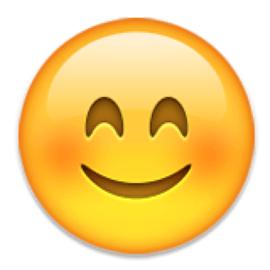 simbolos emoji significado estado feliz