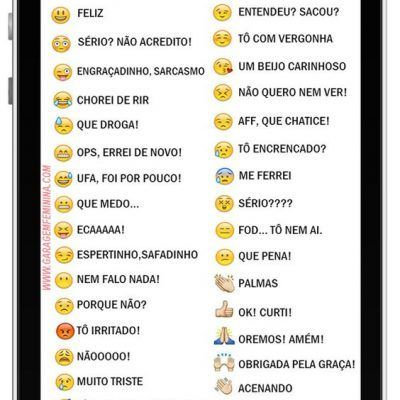diccionario de emoticonos whatsapp 2016