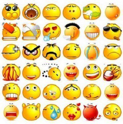 emoticones como se hacen en facebook