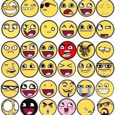emoticones como se hacen para facebook