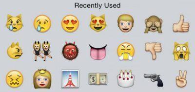 emoticonos o emoticones
