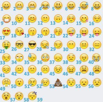 figuras emoji