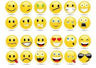 stickers de emoticonos