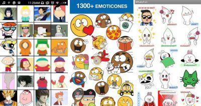 aplicaciones de emoticones