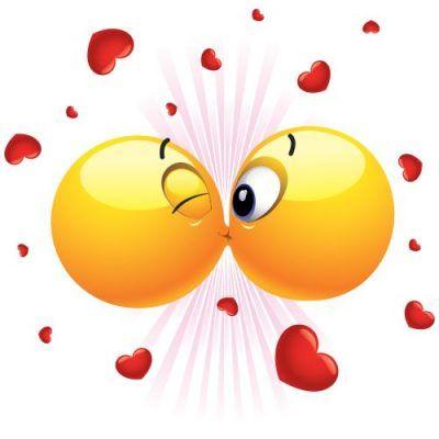 beso emoticono para facebook