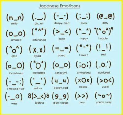 emojis japoneses