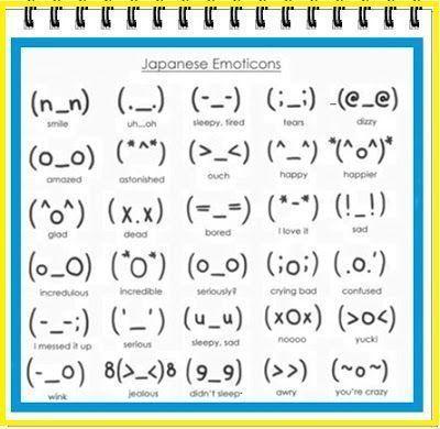 emojis japoneses kawaii
