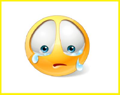 emoticon llorando