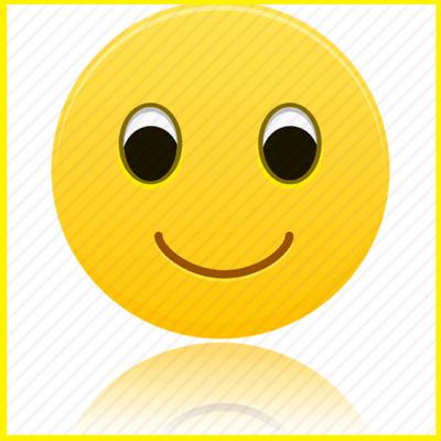 emoticon sonrisa grande