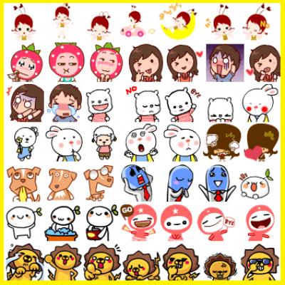 emoticones anime para facebook