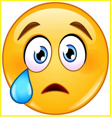 emoticones de tristeza gratis