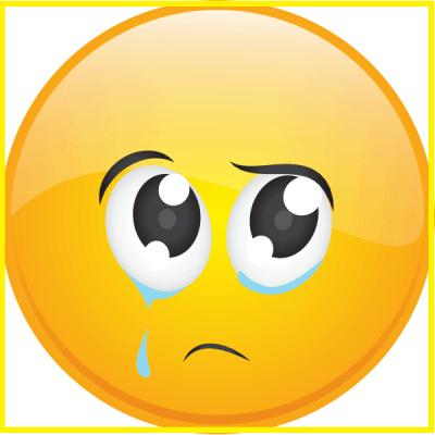 emoticones de tristeza para facebook