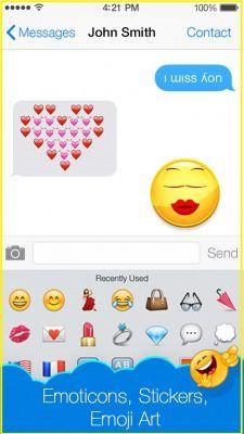 emoticones para mensajes