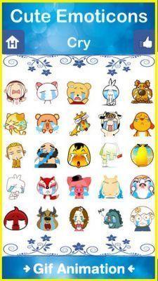 emoticones para mensajes de texto en android