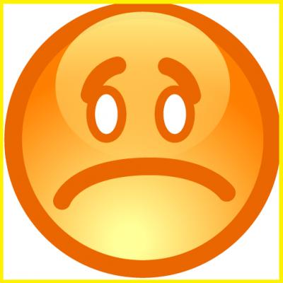 imagenes de emoticones de tristeza