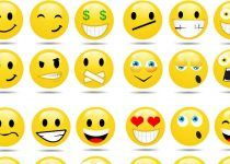 Emoticones emociones facebook