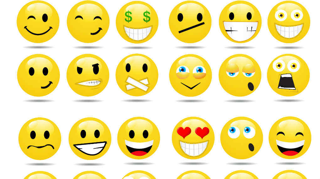 Emoticones emociones facebook