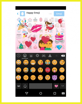 como instalar teclado emoji iphone