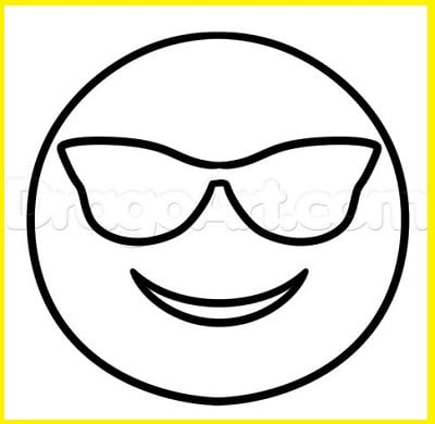 Emoticones Para Colorear Imagenes De Emojis