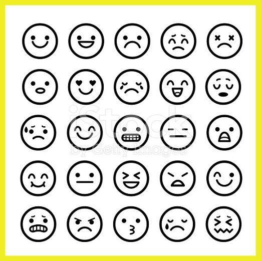 Iconos De Caras Para Facebook y Whatsapp - Imagenes de Emojis