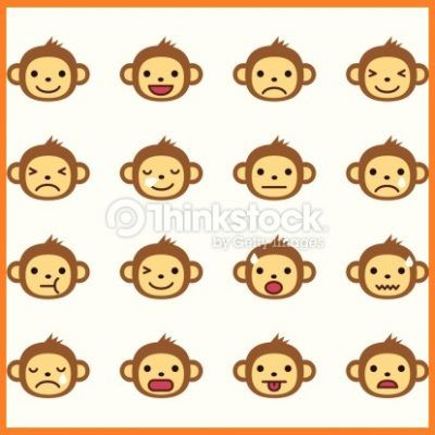 monkey emoticon facebook