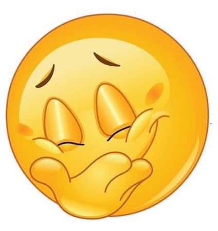 carita feliz simbolo para facebook