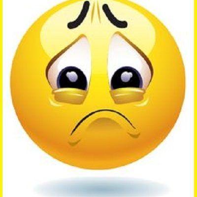emojis tristes