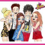 Descarga Gratis Los Emoticones De Soy Luna