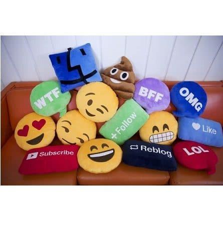 imagenes de emojis en almohadas