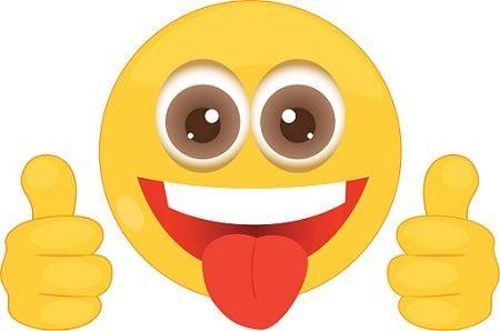 Emoji de caritas sonriendo, lloran y muchas mas