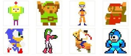 Personajes videojuegos emojis